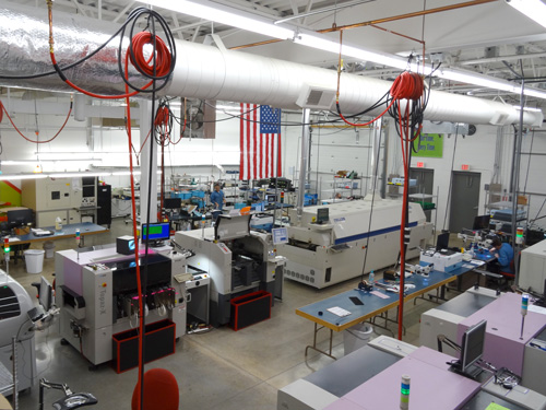 TouchPad Electronics facility