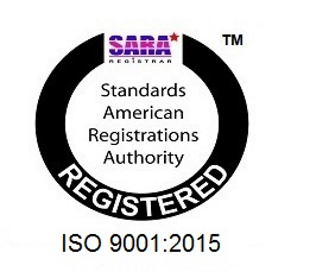 ISO 9001:2015 Registered Icon